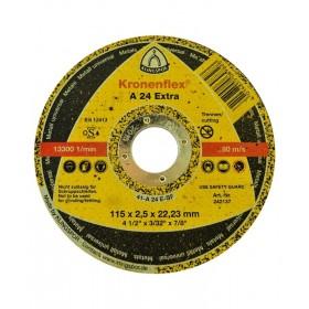 Disco de corte 115X2,5X22,2 A24 Extra - Klingspor