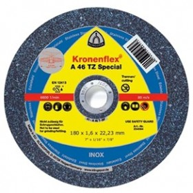 Disco de corte 180x1,6x22,23 A46TZ Special - Klingspor