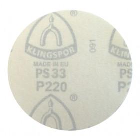 "Disco de velcro 5"" (125mm) sem furo - PS 33 CK - Klingspor"